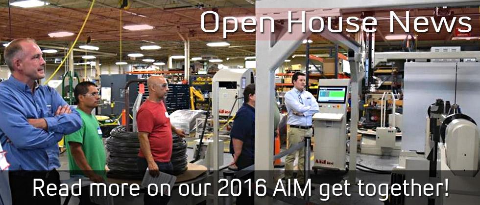 AIM Inc 2016 Open House