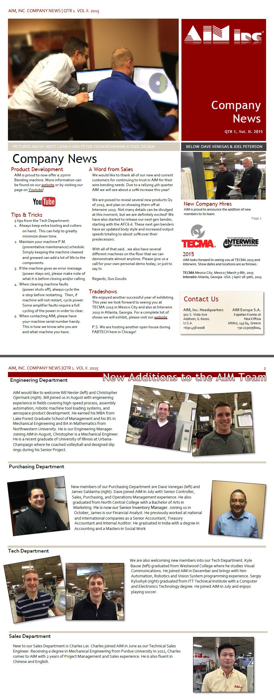 AIM_Newsletter_Q4_2014