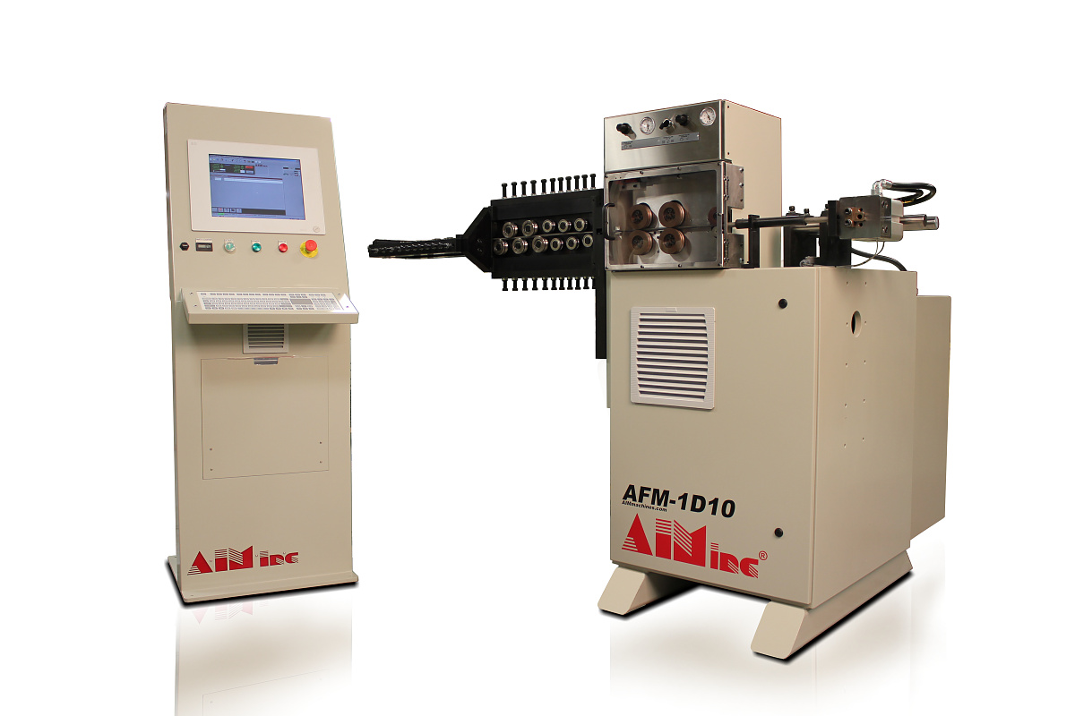 Single-Axis Servo Wire Feeders help boost productivity. – AIM Machines