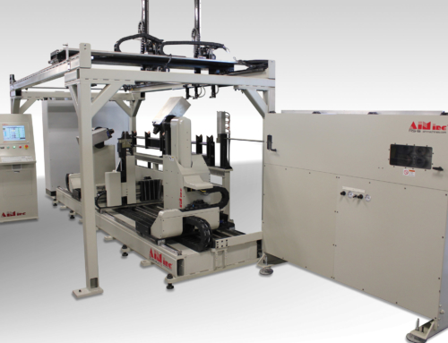 Wire Bending Machine features twin-headed design